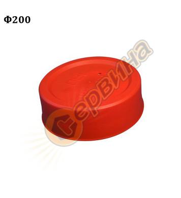 ПВЦ капа Wavin 61122 - ф200