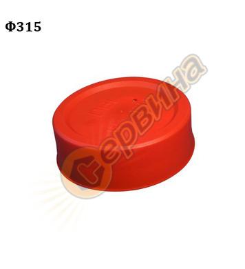ПВЦ капа Wavin 61123 - ф315