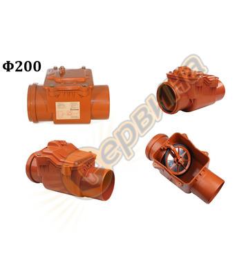 PVC възвратен вентил за канализация Pestan 10402000 - ф200