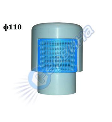 Вентилационна противовакуумна клапа HL Hutterer 34251 - ф110