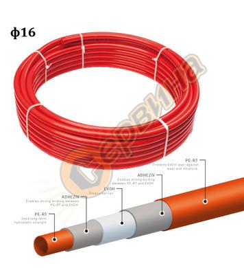 Многослойна тръба PE-RT Oxy Pestan 12800200 - ф 16х2 мм