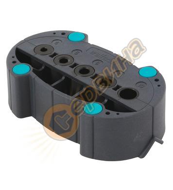 Шаблон за отвори Wolfcraft 4685000 - ф4-5-6-8-10мм