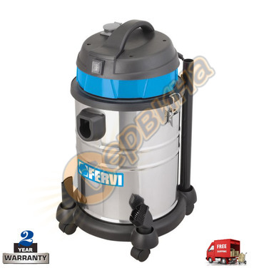 Прахосмукачка за сухо и мокро почистване Fervi A030/30A - 16