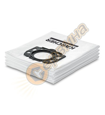 Ватени торби Karcher за WD 4,WD 5 и WD 6 - 4бр. 2.863-006.0