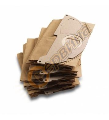 Хартиени филтърни торбички Karcher за A2, A4, K4 - 5 бр. 6.9
