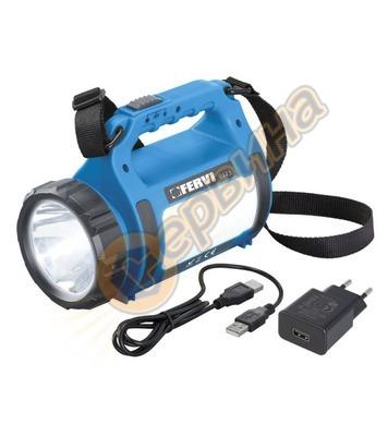 Акумулаторен фенер Fervi 0123 - 3.7V/1800 mAh