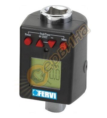 Дигитален динамометричен ключ Fervi 0268