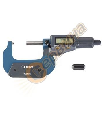 Дигитален микрометър Fervi M021/75/100
