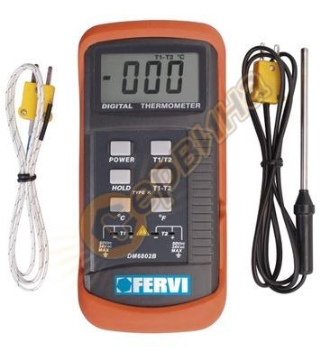 Дигитален термометър със сонда Fervi T063