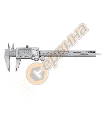 Дигитален двустранен шублер Fervi C033/200 - 50мм