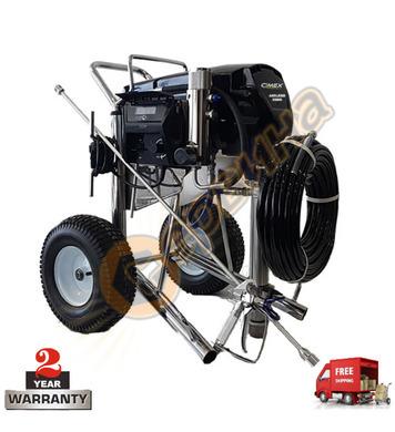 Машина за нанасяне на готови шпакловки и бои Cimex X690LP -