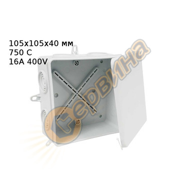 Разклонителна кутия за открит монтаж Kopos-Kolin 8135 KA 310