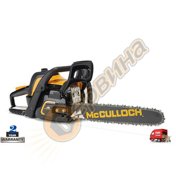 Бензинов верижен трион Mcculloch CS 50S 967300302 - 2.1kW