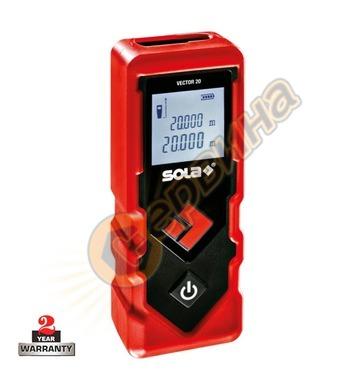 Лазерна ролетка Sola Vector 20 71019101 - 20м