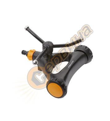Кръгова метална пръскачка с колела Fiskars 1023657