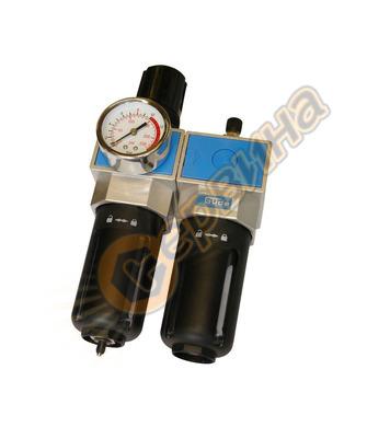 Пневматичен филтър, регулатор и омаслител Gude 41079 - 1/2(N