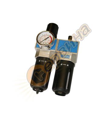 Пневматичен филтър, регулатор и омаслител Gude 41084 - 1/4(N