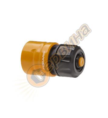 Конектор за маркуч Fiskar 1023666 Aqua-стоп - 13-15 мм 1/2