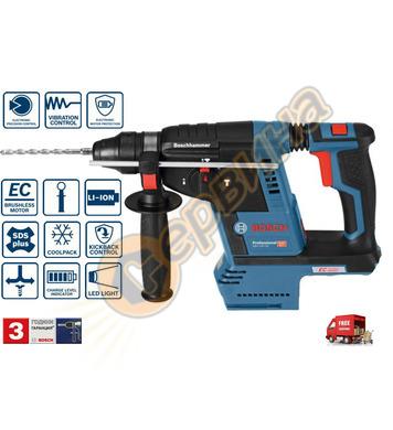 Акумулаторен перфоратор Bosch GBH 18V-26 Solo 0611909000
