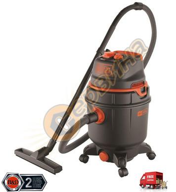 Прахосмукачка за сухо и мокро почистване Black&Decker BXVC30