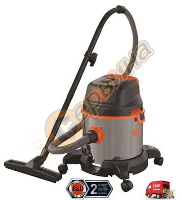 Прахосмукачка за сухо и мокро почистване Black&Decker BXVC20