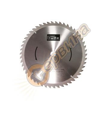 Режещ диск за циркуляр Gude 250x20мм 50Z 55023