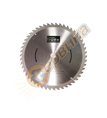 Режещ диск за циркуляр Gude 210x30мм 40Z 55075
