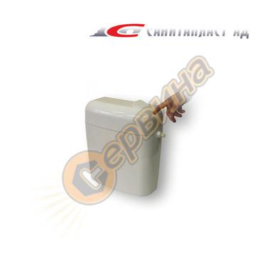 Стенно двустепенно тоалетнo казанче Санитапласт SA001