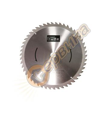 Режещ диск за циркуляр Gude 210x30мм 60Z 55076