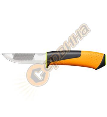Нож с пила и вградено точило Fiskars 1023619 - 219 мм