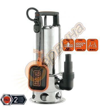 Потопяема помпа Black&Decker BXUP1100XDE - 1100W