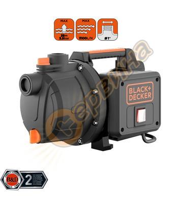 Градинска-самозасмукваща помпа Black&Decker BXGP600PE - 600W