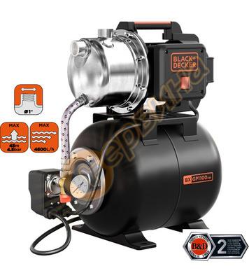 Хидрофорна помпа Black&Decker BXGP1100XBE - 1100W