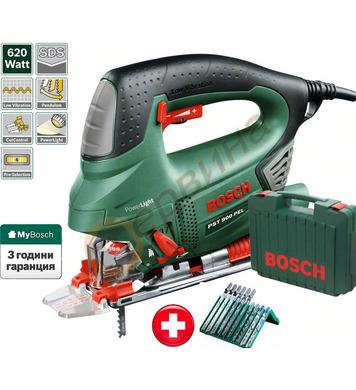 Прободен трион Bosch PST 900 PEL 06033A0201 + Комплект ножче