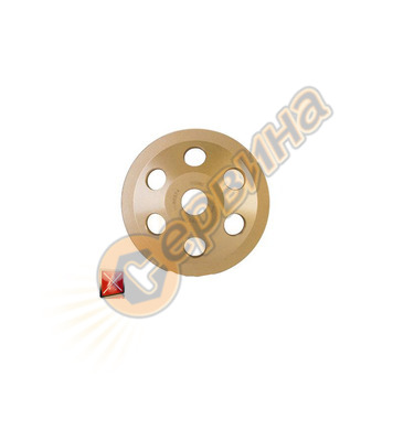 Диамантен диск за сухо шлайфане Rubi PCD 05922 - 125x22,23 м