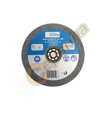 Резервен диск за шмиргел Gude 125X16X20 ММ K 60  55524