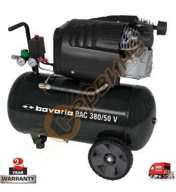 Маслен компресор Bavaria 4007355 BAC 380/50 V - 50л / 8бара