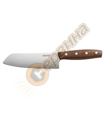 Нож готварски широк Fiskars Norr Santoku 1016474 - 410 мм