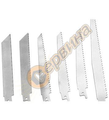 Резервни остриета за Електрически трион Gude  6 бр  58157