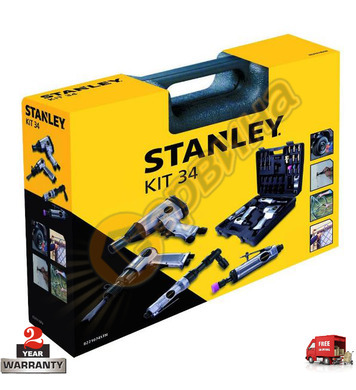 Комплект за компресор Stanley 8221074STN - 34 части