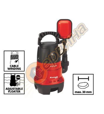Потопяема дренажна помпа Einhell GH-DP 3730 - 370W MAX-5метр