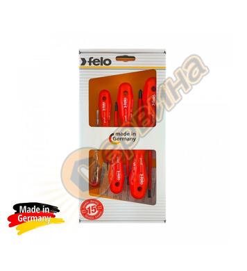 Комплект професионални отвертки Felo S613 613 962 98 VDE 100