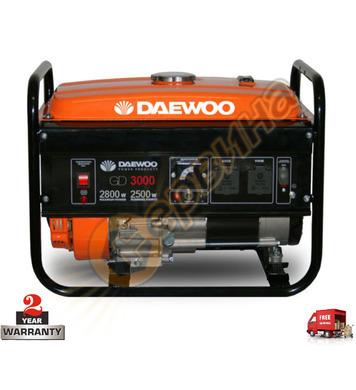 Бензинов генератор Daewoo GD3000 - 2.5KW/2.8KW