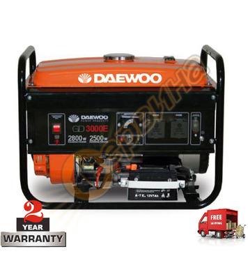 Бензинов генератор Daewoo GD3000E - 2.5KW/2.8KW