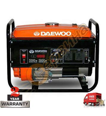 Бензинов генератор Daewoo GD6000 - 5KW/5.5KW