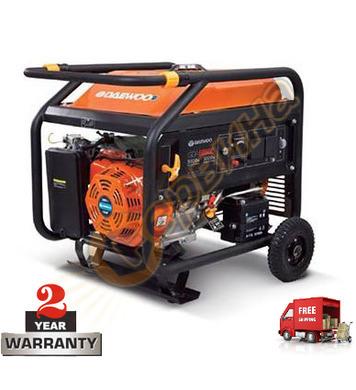 Бензинов генератор Daewoo GDА7500E - 6KW/6.5KW