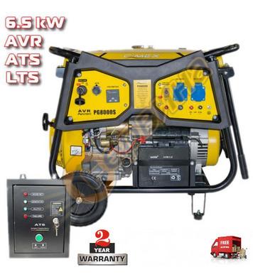Бензинов генератор Cimex PG8000ATS - 6KW/6.5KW