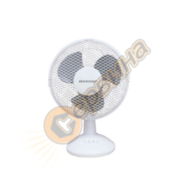 "Вентилатор Diplomat FDWH 0903 KN – 30 W, 9"", настолен, бял"