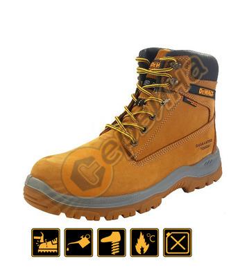 Работни обувки с метално бомбе DeWalt Honey Titanium DWF5009