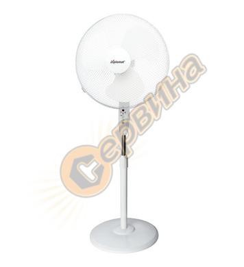 """Вентилатор Diplomat FSWHT 1643 KN – 50W 16"""" стоящ - бял"""